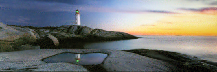 Atlantic Reflections (Peggy's Cove, Nova Scotia)