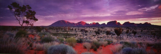 Painted Skies (Kata Tjuta National Park) Australia