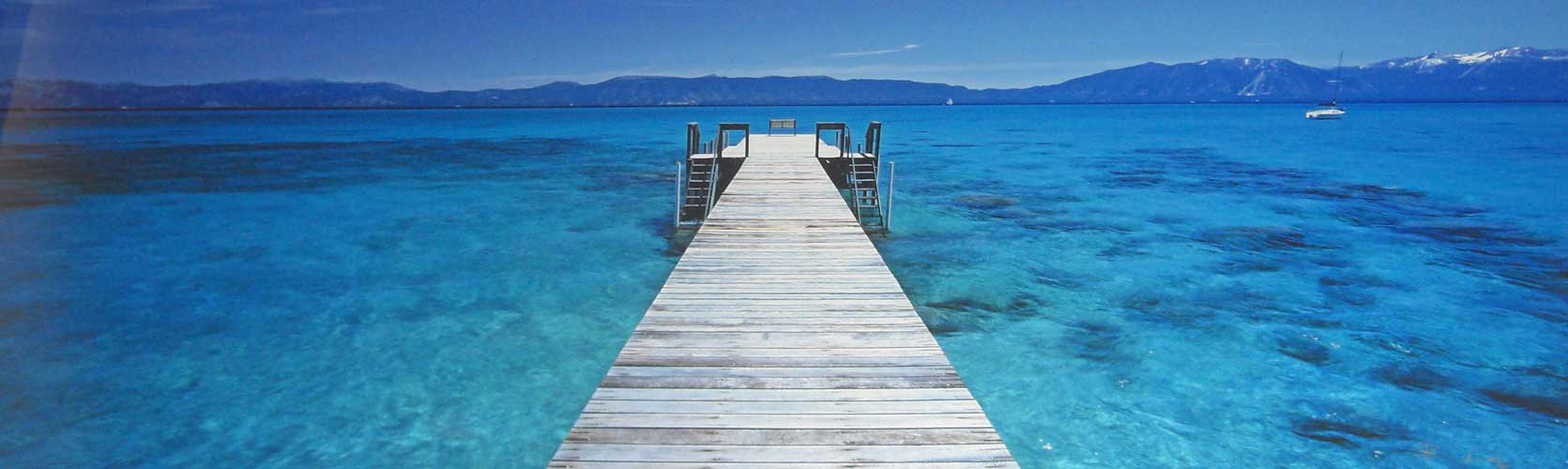 Tahoe Jetty by Peter Lik