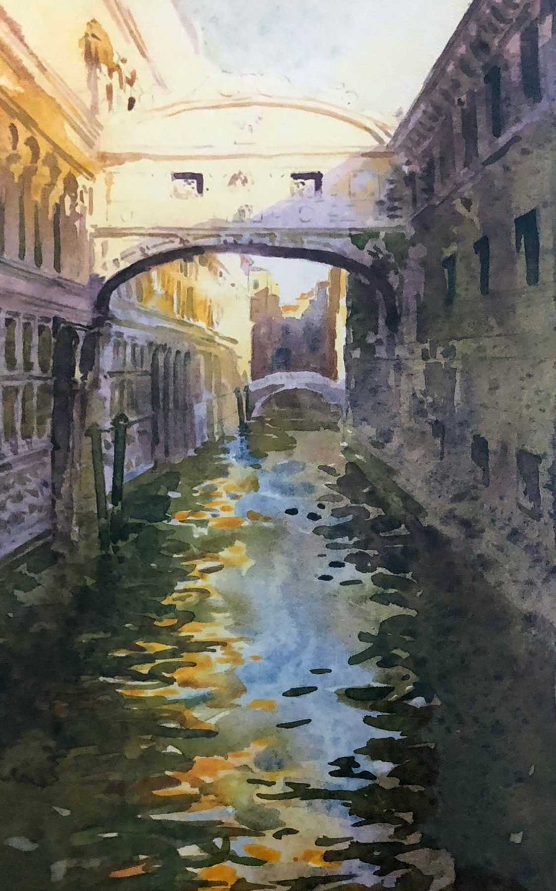 Venice Canal by J. Torrents Llado