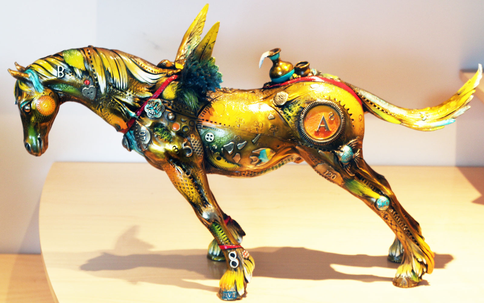Arthur Bronze Sculpture 2011 21 in