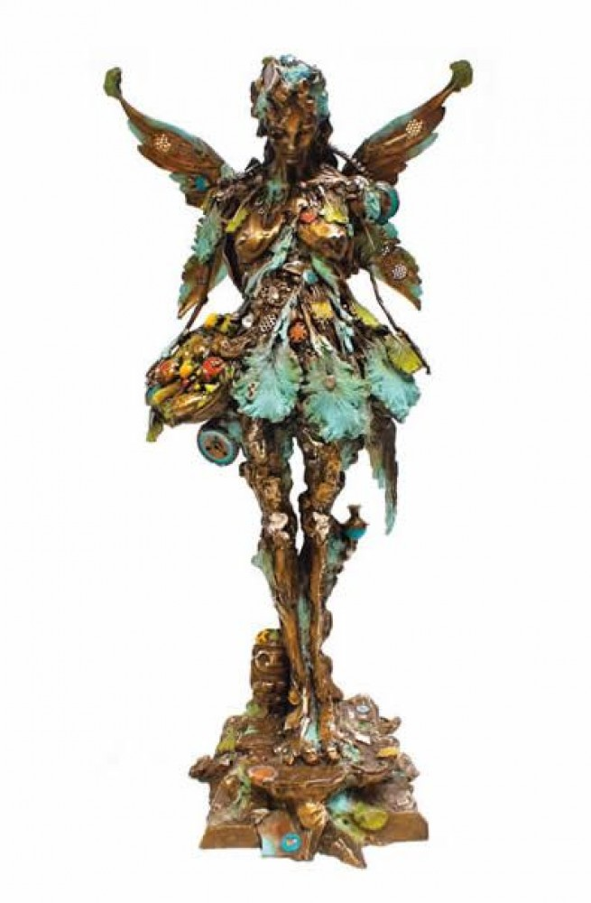 Maria Alma Bronze Sculpture 32 in