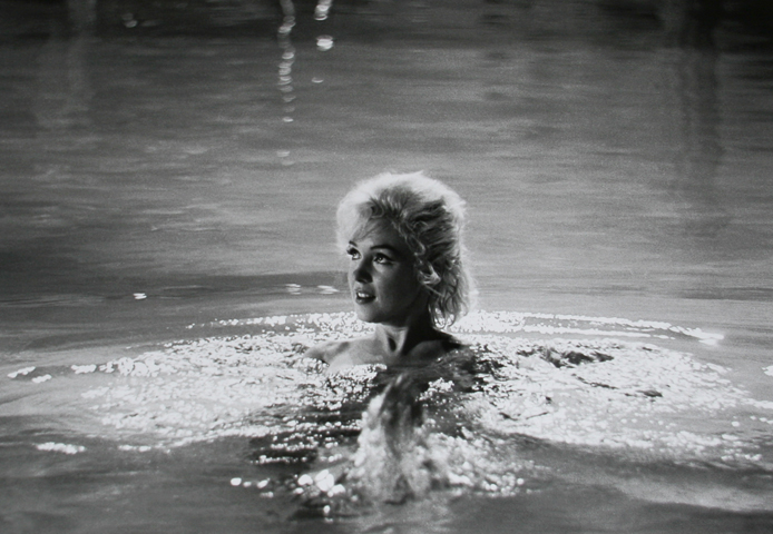 Marilyn Monroe in Something's Got to Give 8 AP 1962