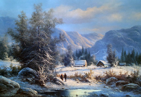 Winter Landscape 30x42