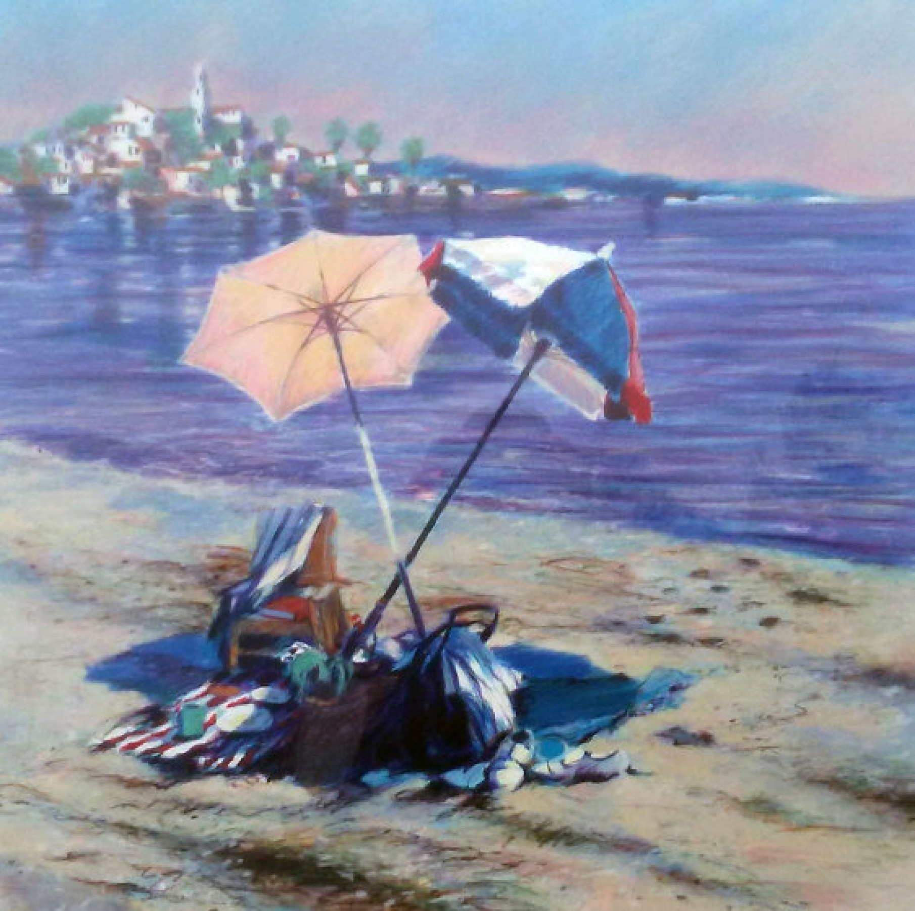 Two Umbrellas AP 1986