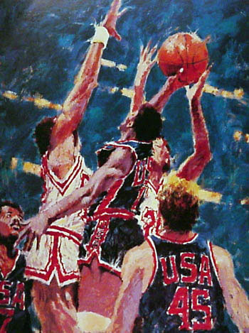 Jump to Victory (Basketball) 1988 71x50