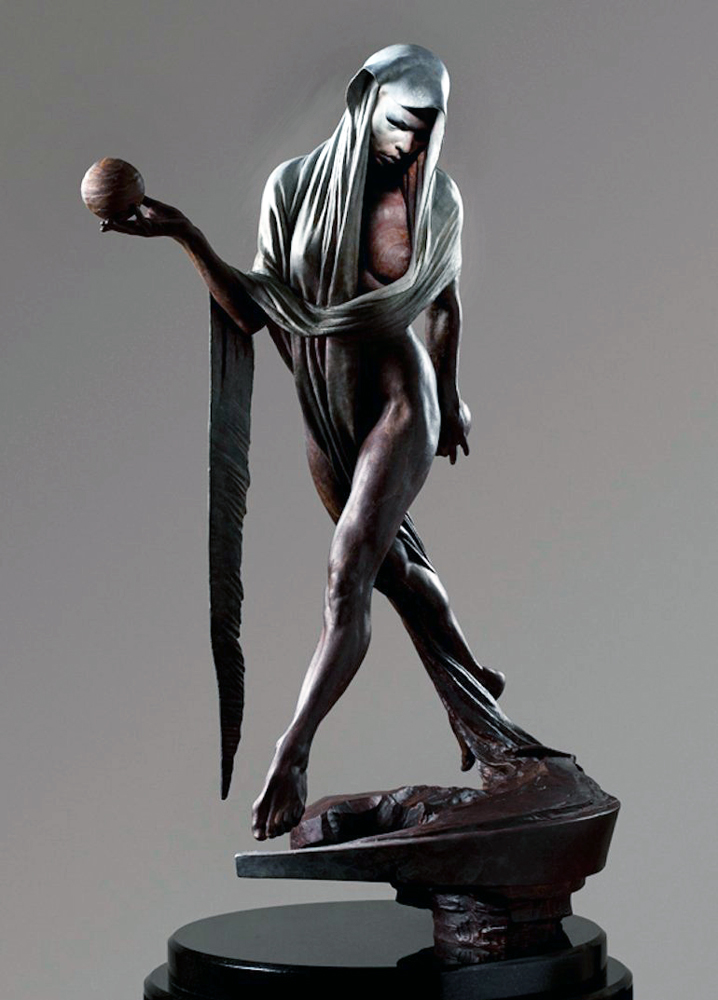 Nightfall Bronze Sculpture 2012 16 in