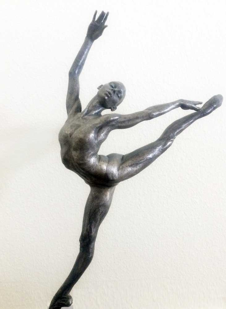 Sissone Bronze Sculpture 28 in