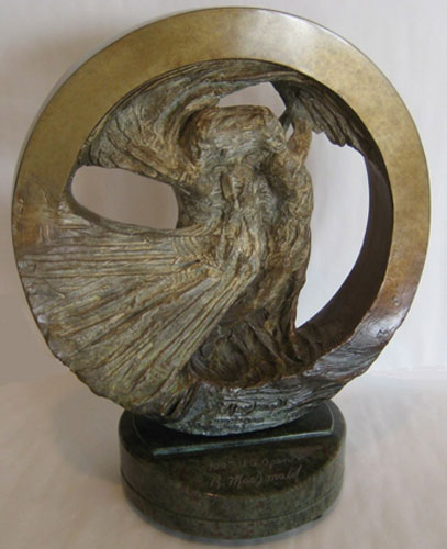 Golf Study I Bronze Sculpture 2000