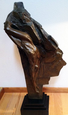 Eurydice Bronze Sculpture AP 1989