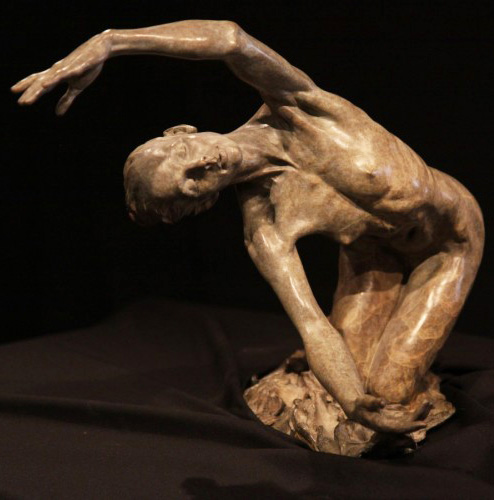 Dawn (The Awakening) Bronze Sculpture 1996 19 in