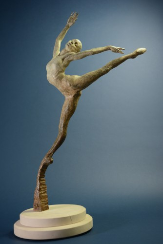 Sissone,  Bronze Sculpture 1/4 Life Size 2010