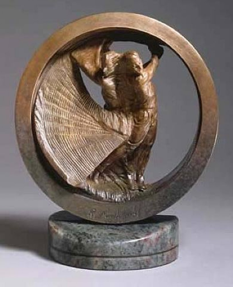 U.S. Open Monument Bronze Sculpture 2000 35 in