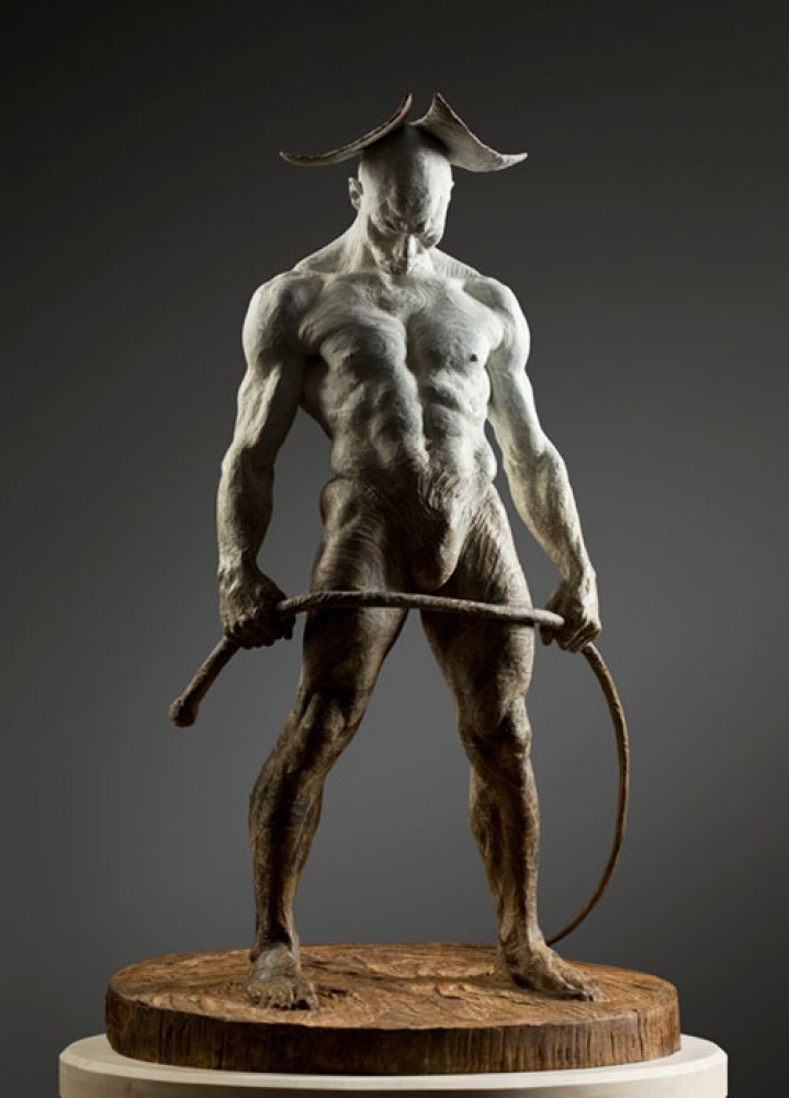 Bullwhip Bronze Sculpture 2009