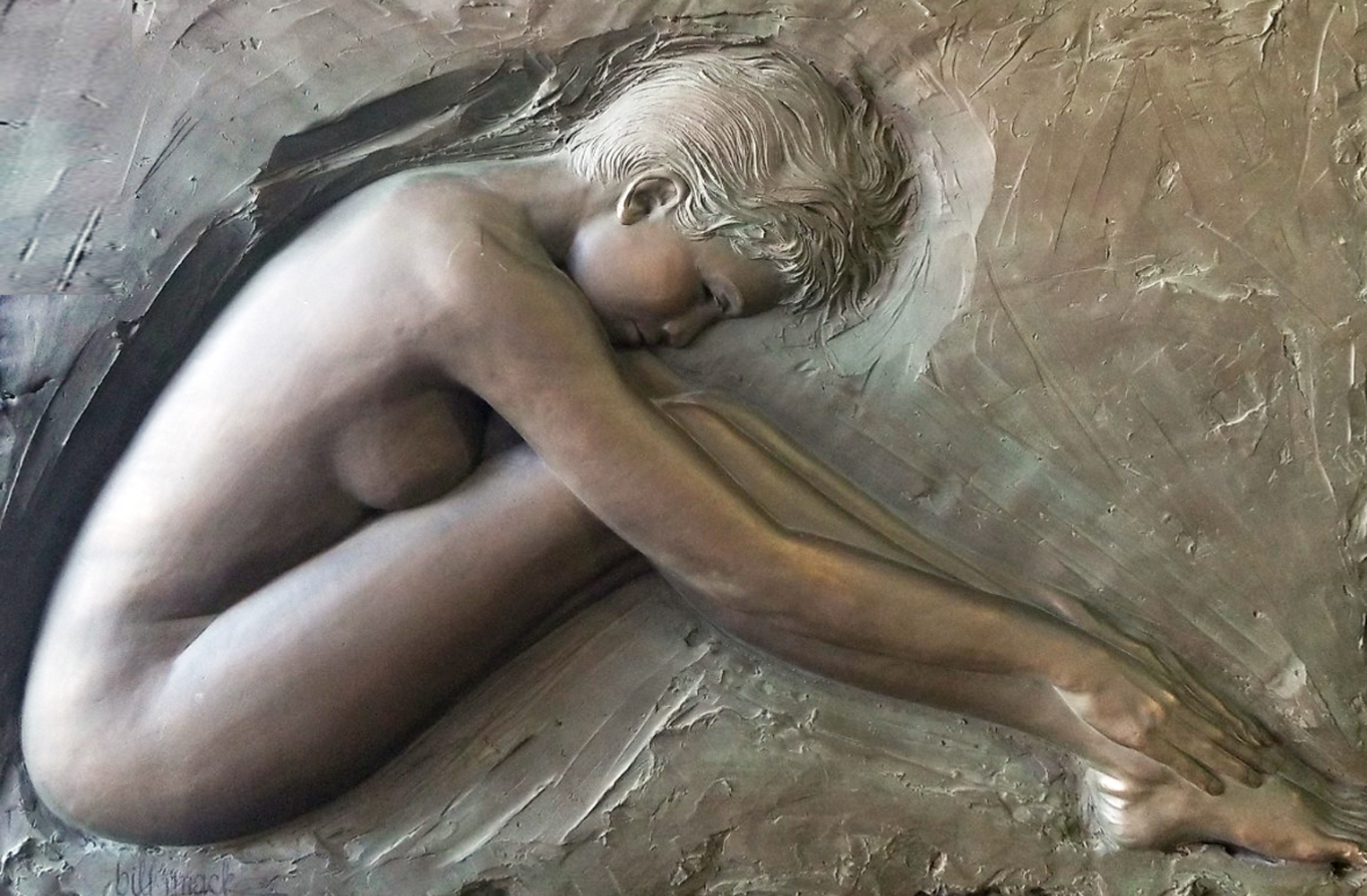 Serenity Bronze Sculpture 1986