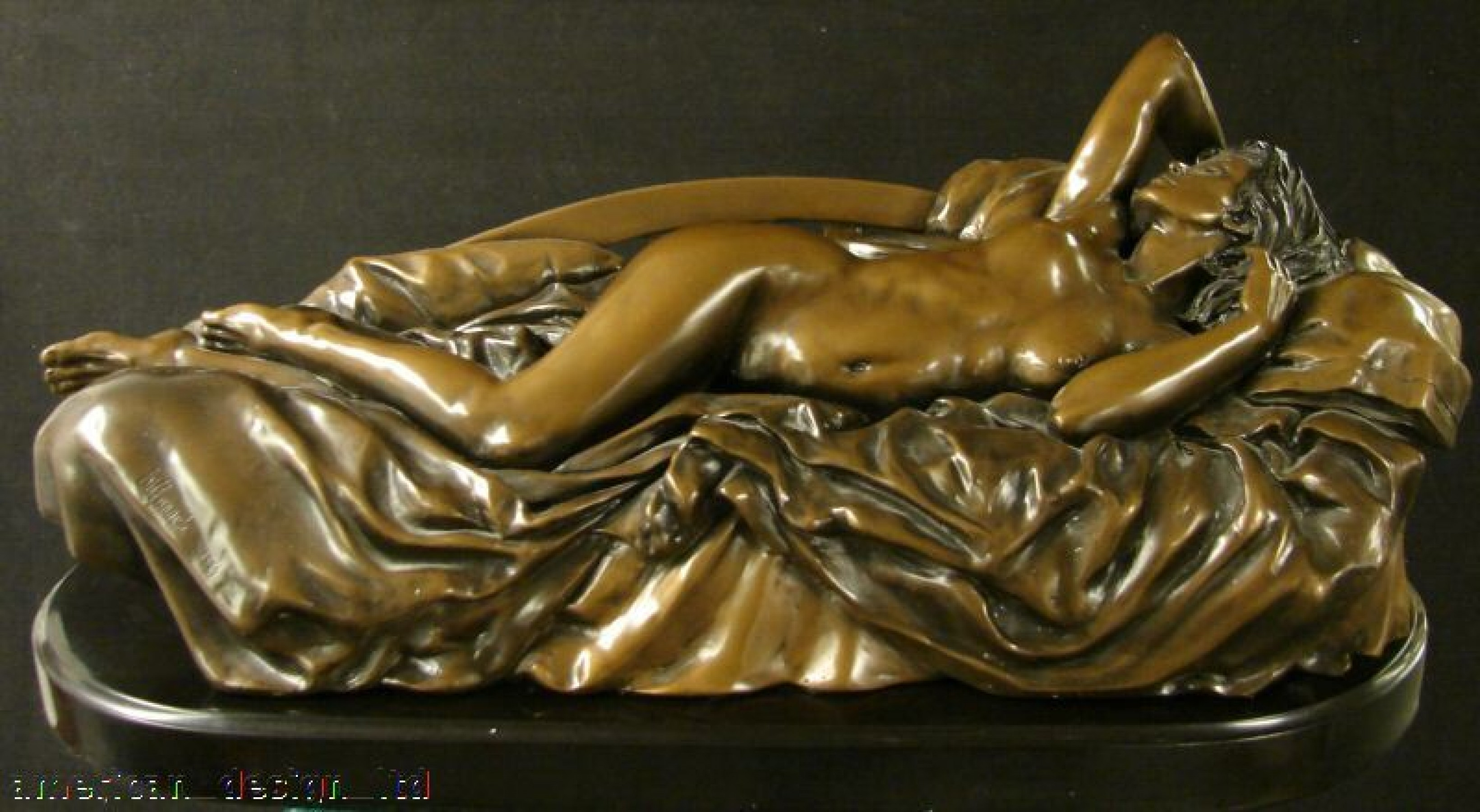 Tranquility Bronze Sculpture 1994 65 in