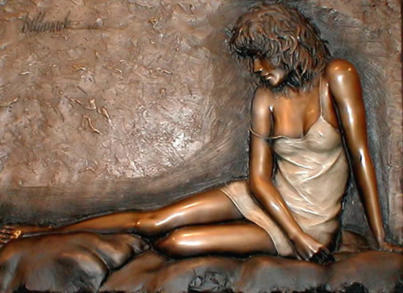 Desiree  Bonded Bronze Sculpture 2004