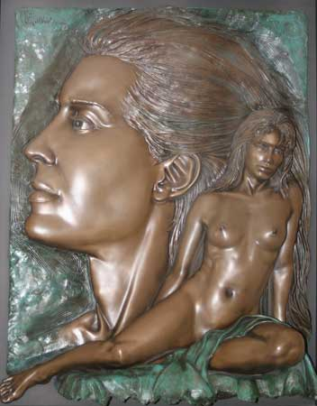 Envisions Bronze Sculpture 1994