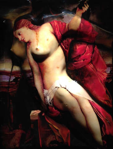 Spirit of Titian, The Sacred and the Profane Love 2008 42x36