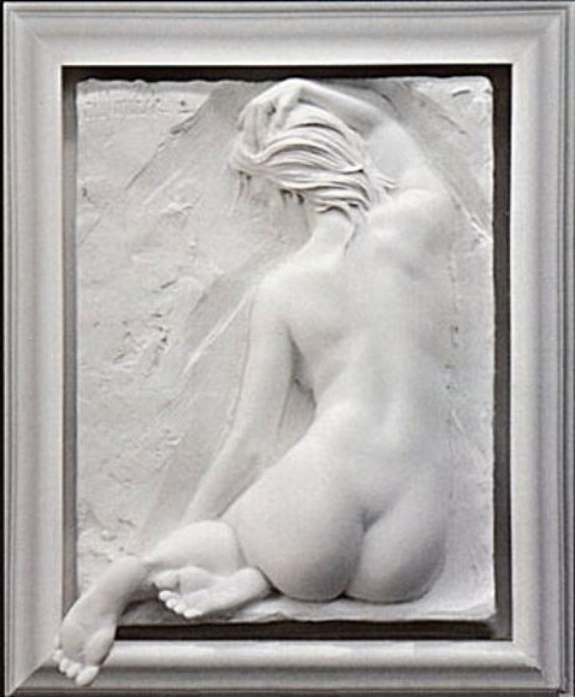 Innocence Bonded Sand Sculpture 2001