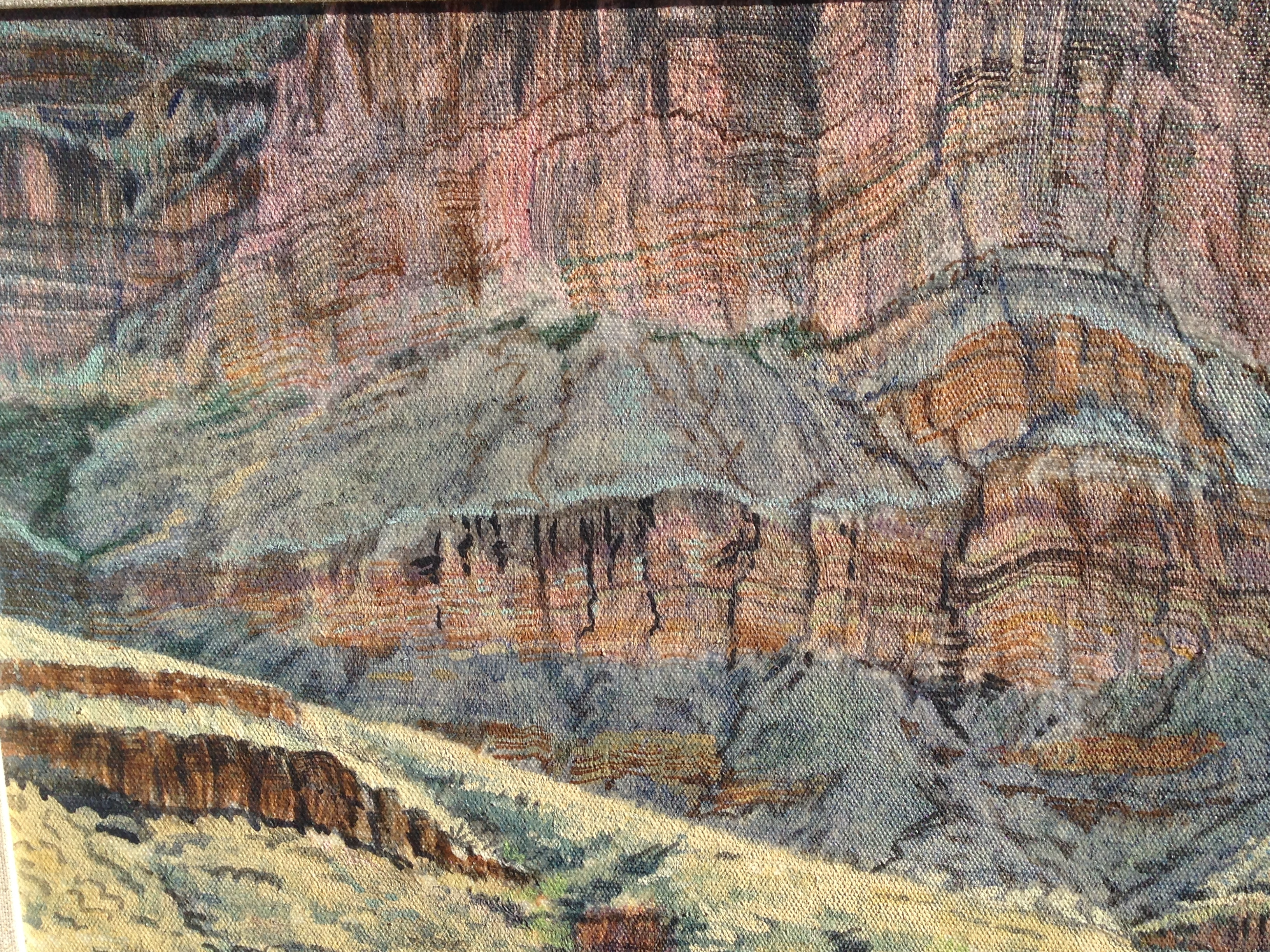 Bright Angel Cliffs 1985 19x13