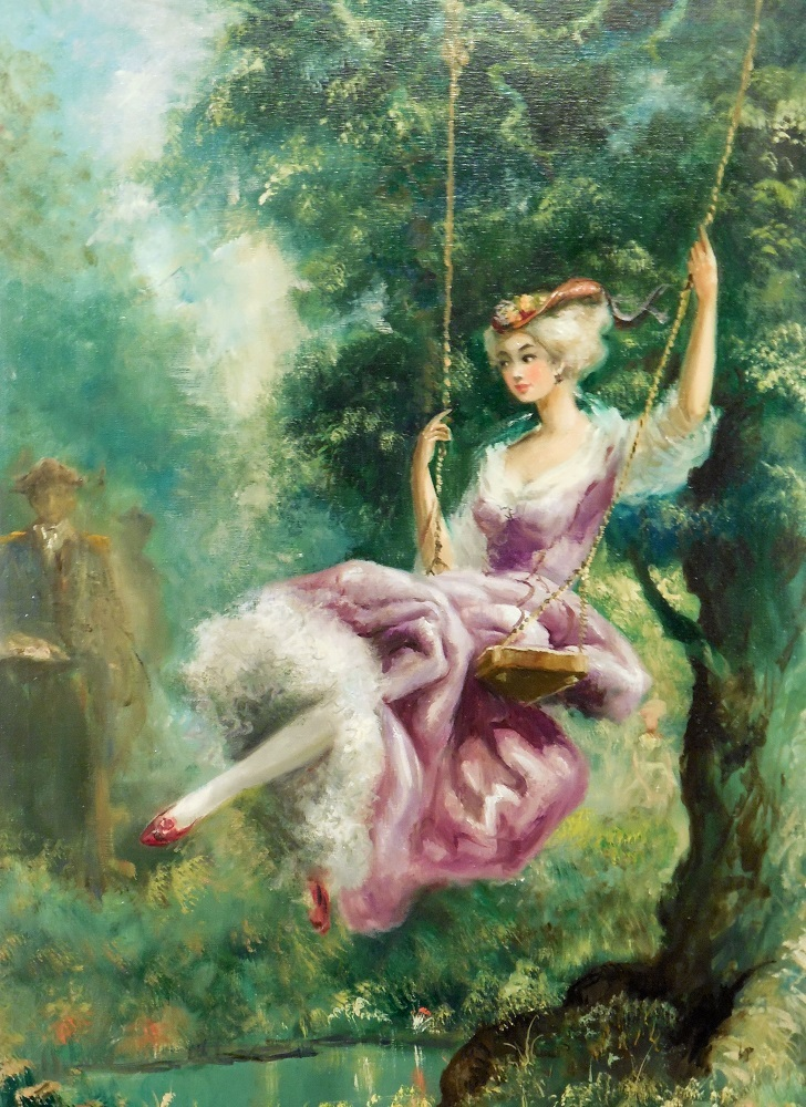 Untitled Tree Swing 44x32