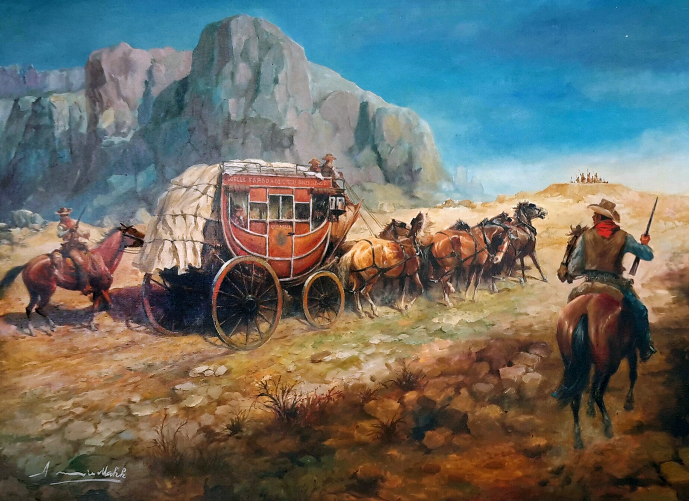 Long Hot Trail 1962 34x44