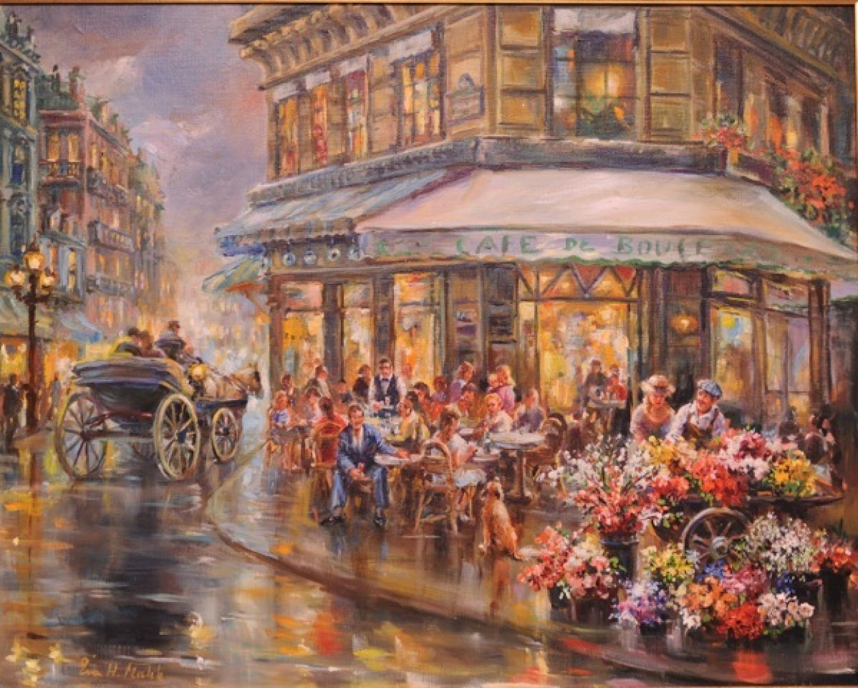 Paris I Love 34x40