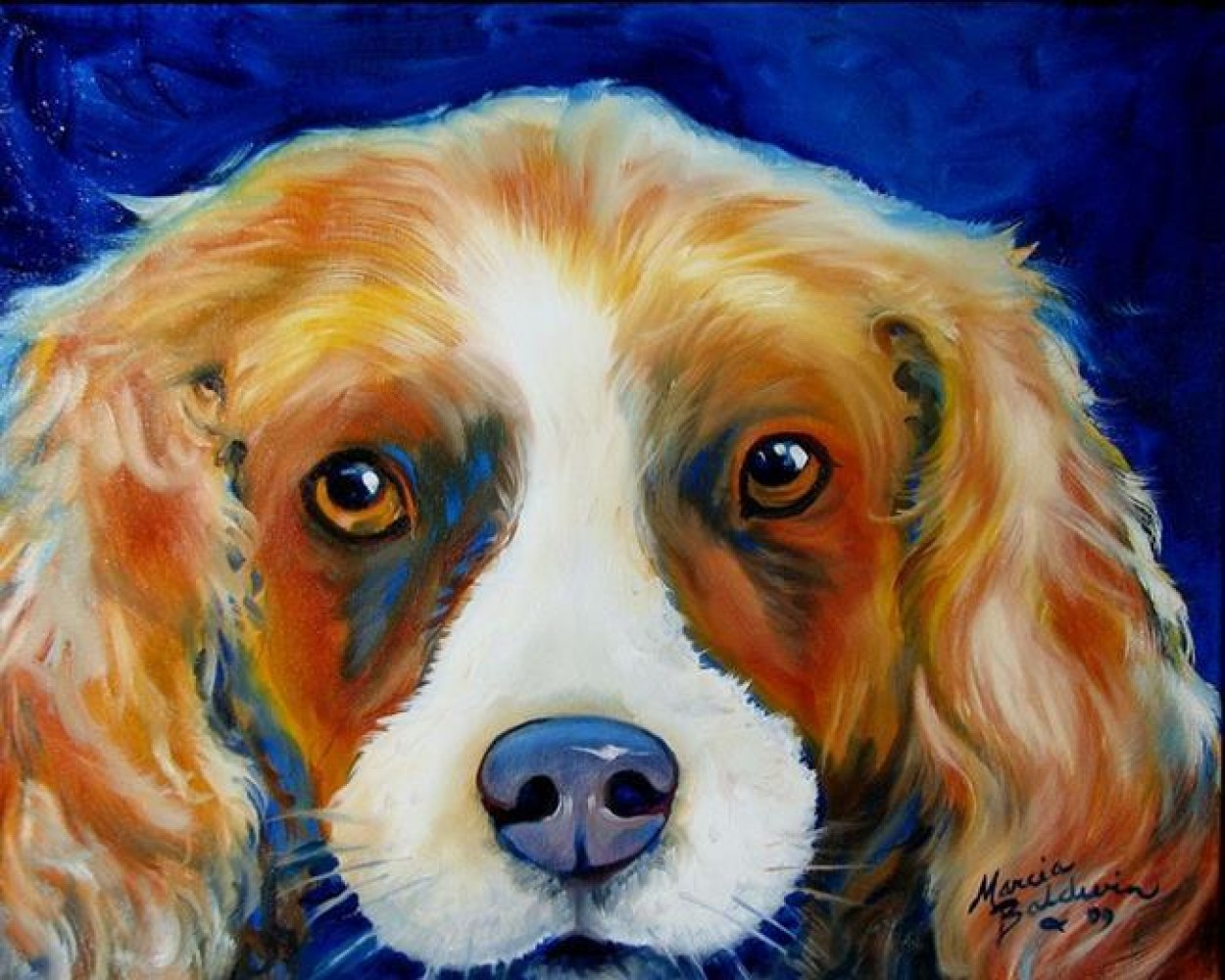 Charlie Spaniel Pop Art 2009