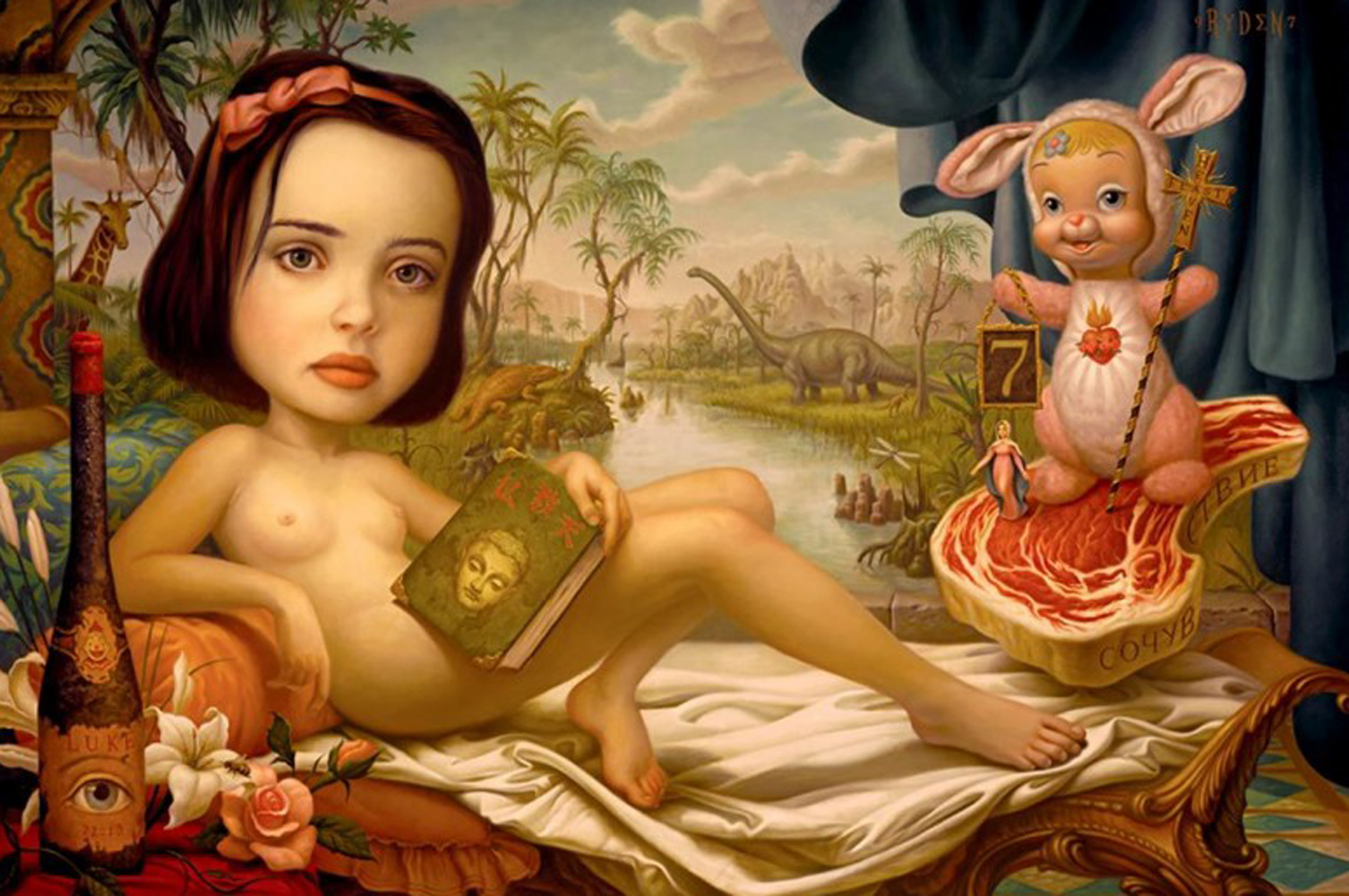 Snow White 1997   by Mark Ryden