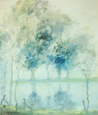 Mist Over the Murray 12x10