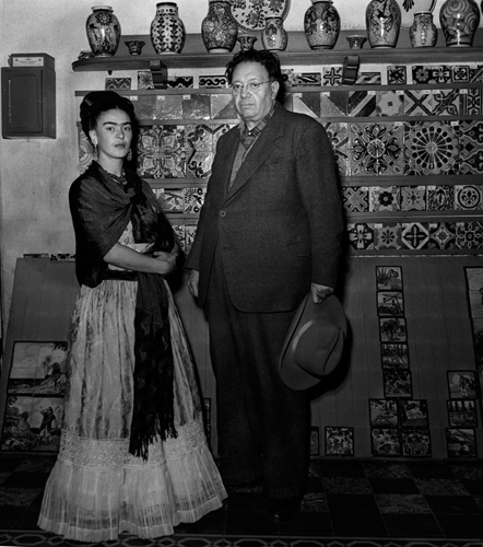 Frida Kahlo and Diego Rivera IX 1945
