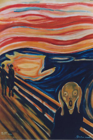 Guatemalan Scream (Munch) The Scream 2004