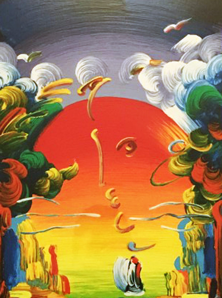 Better World 2011 by Peter Max
