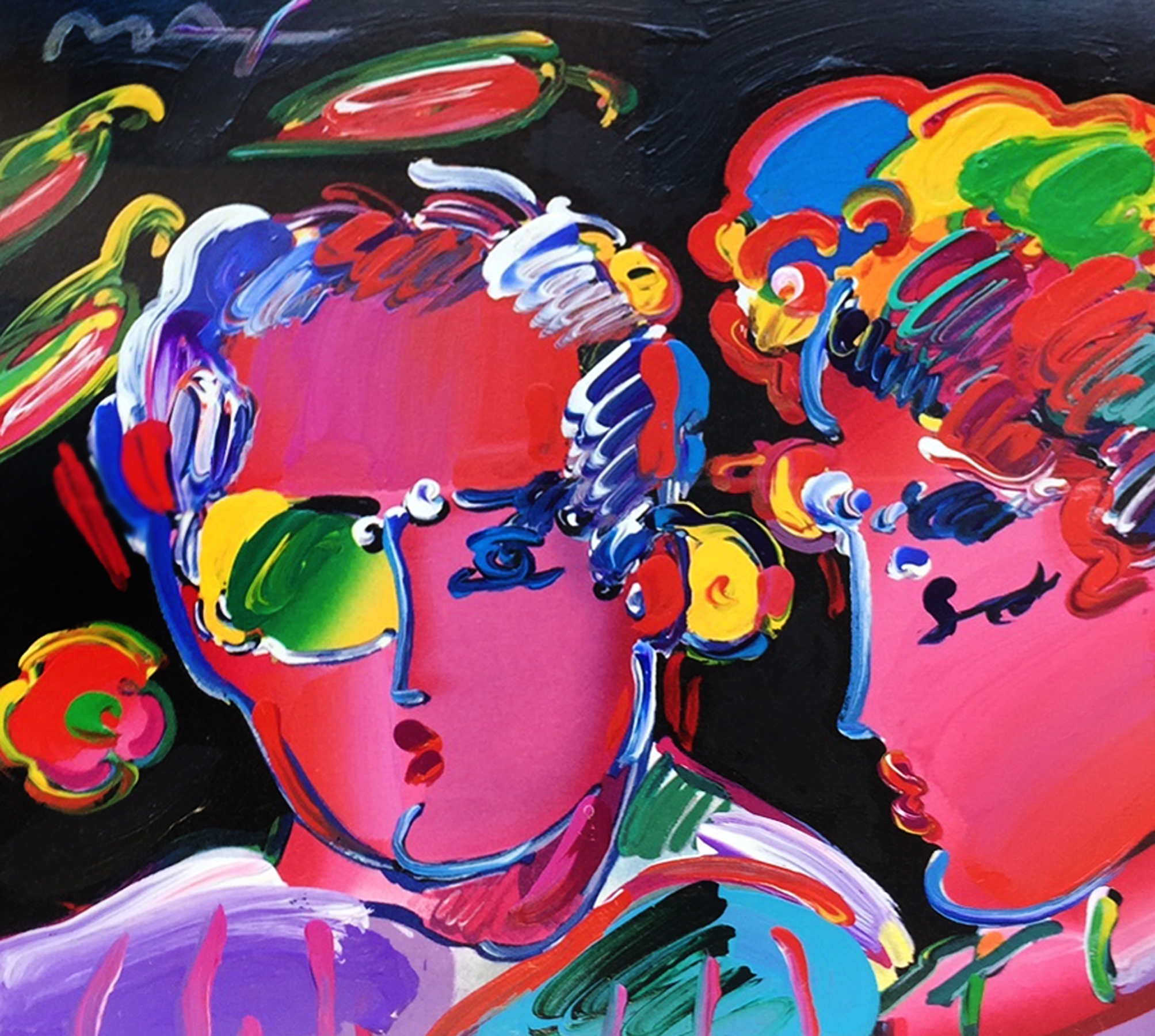 Peter Max Zero in Love Retro III 1997