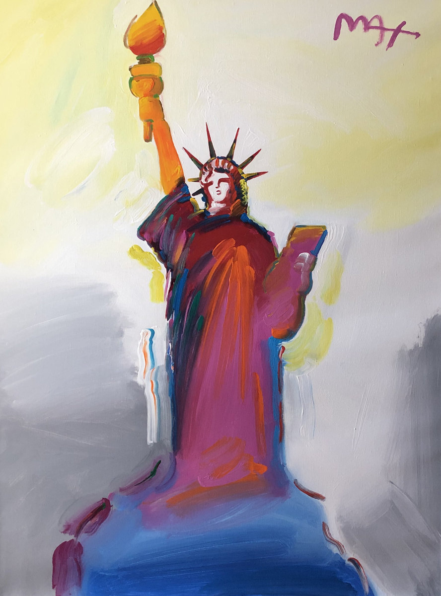 Statue of Liberty Ver. VIII Unique 2018  56x45
