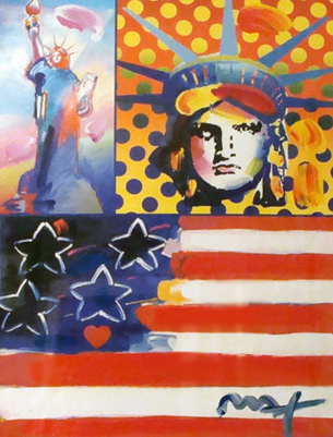 God Bless America IV Unique 24x18