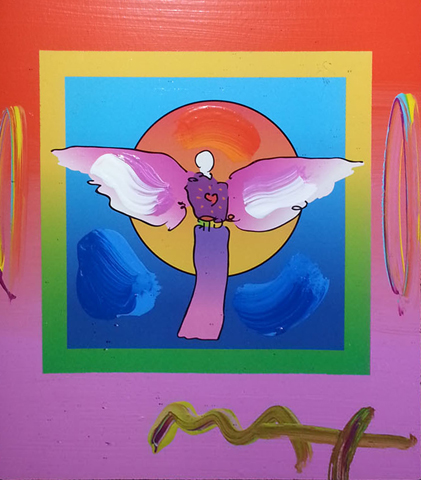 Angel With Sun on Blends 2006 26x24