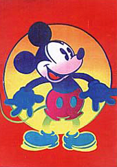 Disney's Mickey And Minnie set of 2 1996