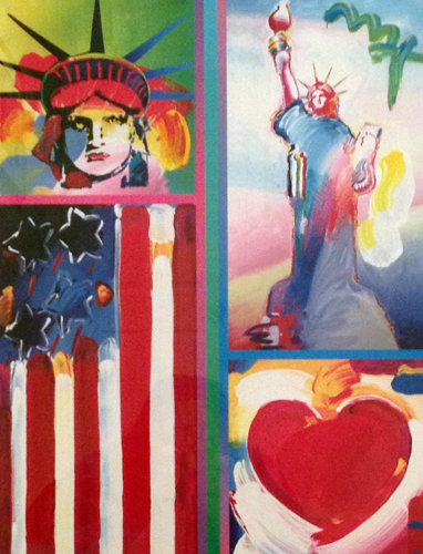 Two Liberties, Flag And Heart 2006 Unique