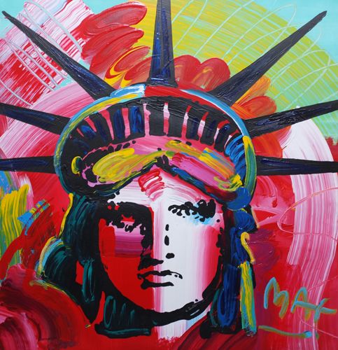 Liberty Head Version II No 11 1996 36x36 Unique