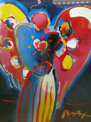 Angel With Heart 2000 36x30