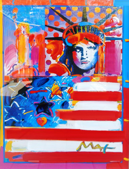 God Bless America II 2001 31x31