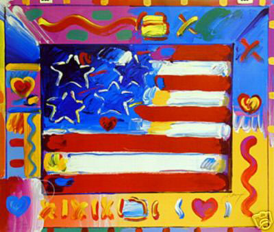 Flag With Heart II 2002