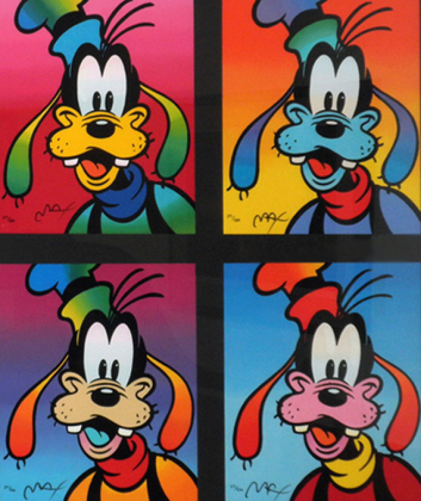 Goofy Suite of 4 1994