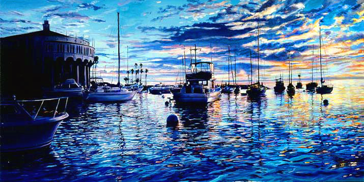 Catalina Heaven 2004  36x58