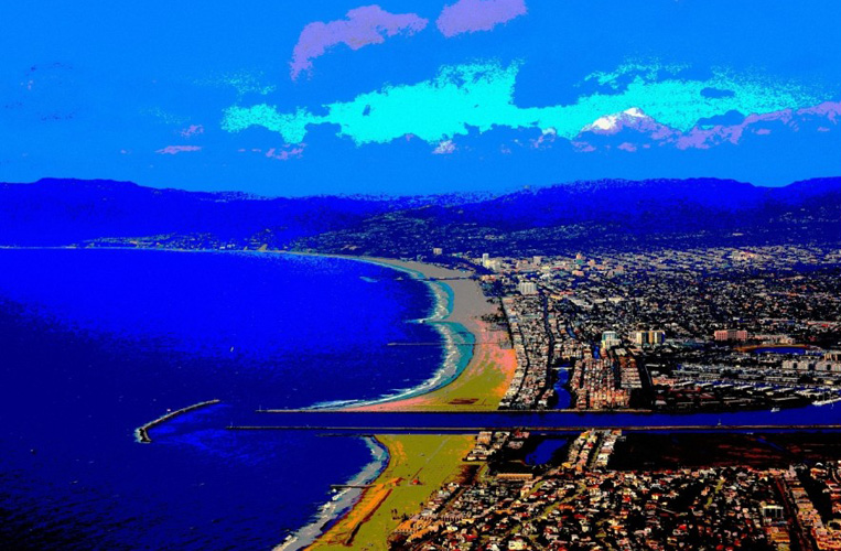 Santa Monica And Marina Del Rey From the Air AP 2014