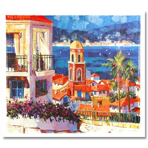 Capri Sunset and St. Tropez Set of 2 1996