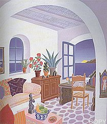Return to Mykonos Suite of 8 1990