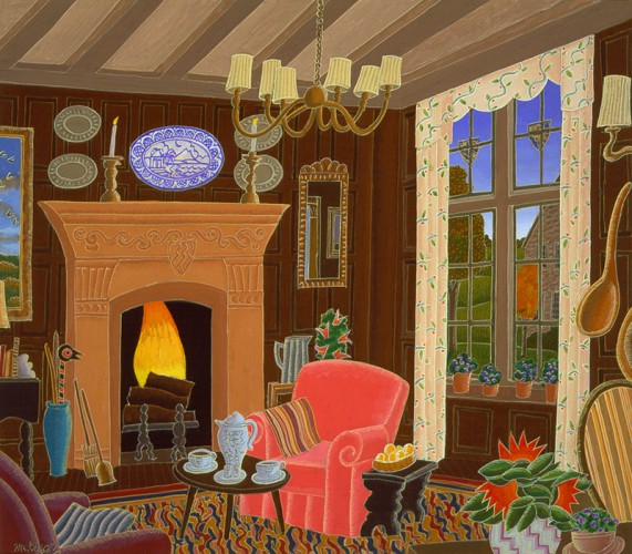 Cotswold Inn (England Suite) 1985 19x21